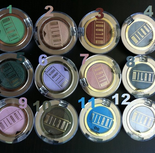 Lots 12 Units SHADOW EYE POWDER MILANI