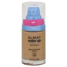 Base de Maquillaje Reanimante del Rostro Almay wake-up 040