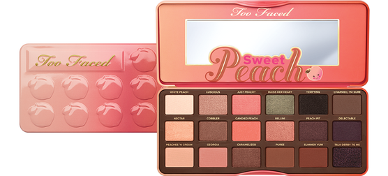 Too Faced Paleta De Sombras Sweet Peach Kristy Shopping Official Site
