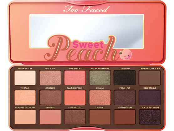 Too Faced Paleta De Sombras Sweet Peach