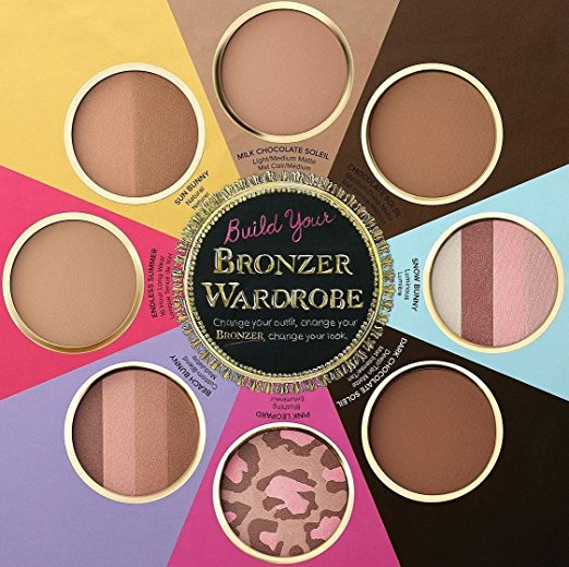 Too Faced Paleta de 8 Bronzer e Iluminadores