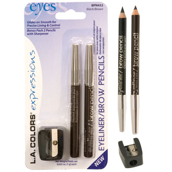 Expressions Eyeliner & Brow Pencil - Black Brown