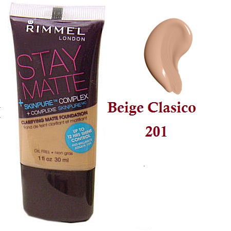 Base Anti-Acné Matte Rimmel London 201