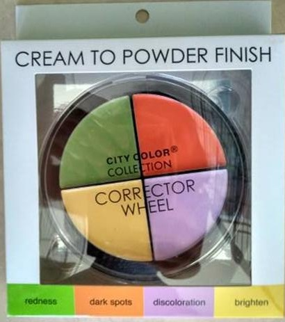 City Color Collection Corrector wheel