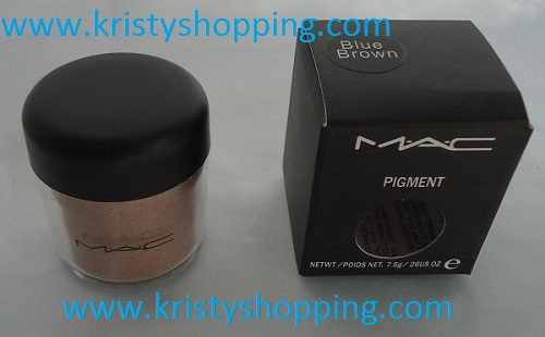 Pigment Blue Brown MAC