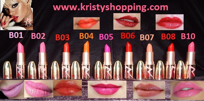Lipstick MAC Collection Rihanna RiRi B10