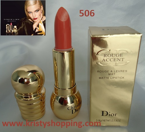 Labial Mate Rougen Accent Diorific 506