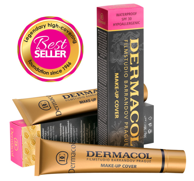Lote 6 Bases de Dermacol Make-up Cover