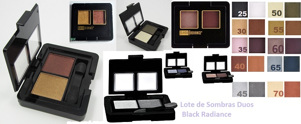 Lote 6 Sombras Dynamic Duo Black Radiance