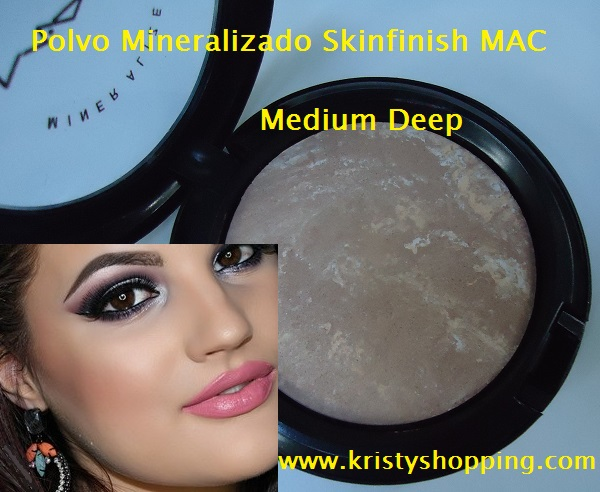 Powder Mineralize Skinfinish Medium Deep MAC