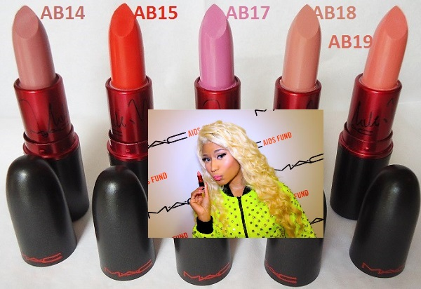 Labial MAC Viva Glam Nicki Minaj AB18