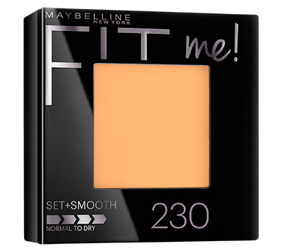 FIT ME! SET + SMOOTH POWDER Natural Buff  230