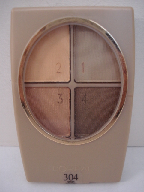 Sombras Loreal Paris Wear Infinite Quad 304