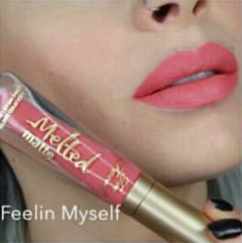 Labial Melted Matte Too Faced Feelim Myself