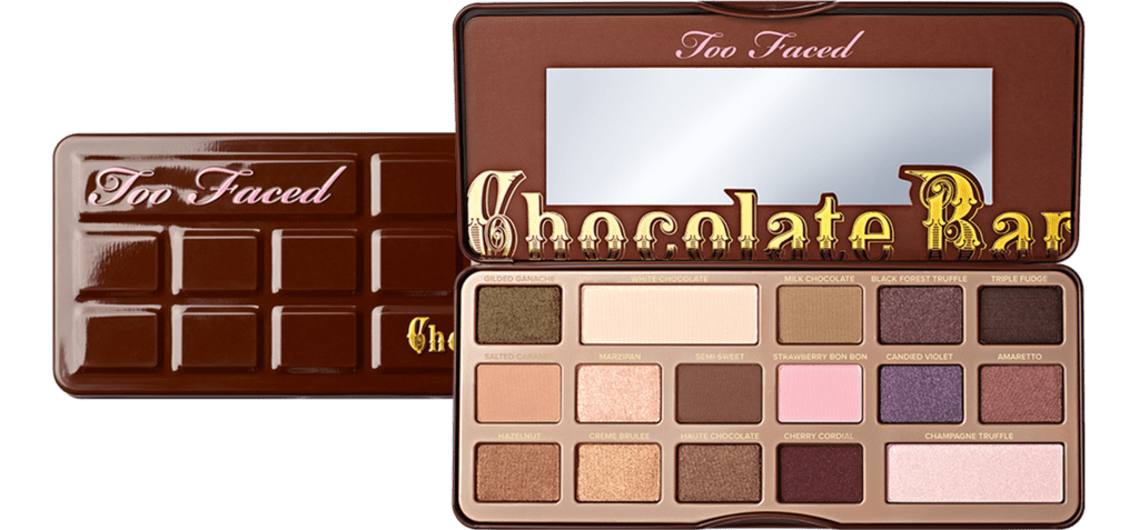 Paleta De Sombras Chocolate Bar Too Faced