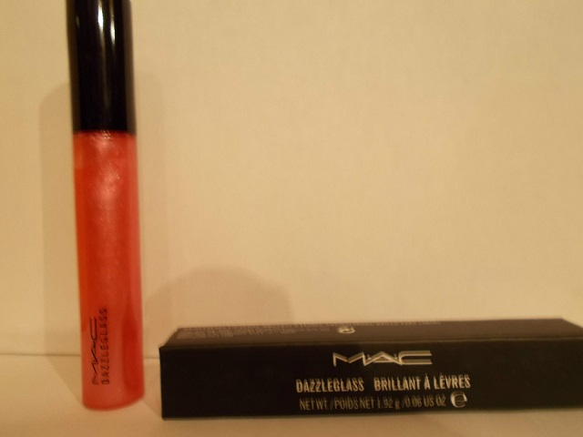 Brillo de Labios MAC Dazzleglass Dark Crimson