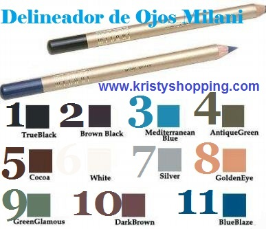 Milani eyerliner pencil Golde Eye 8