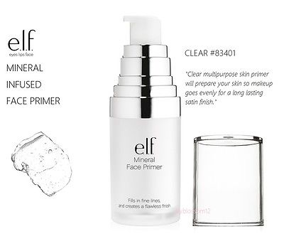 Face Primer Mineral Infused Clear e.l.f. 83401
