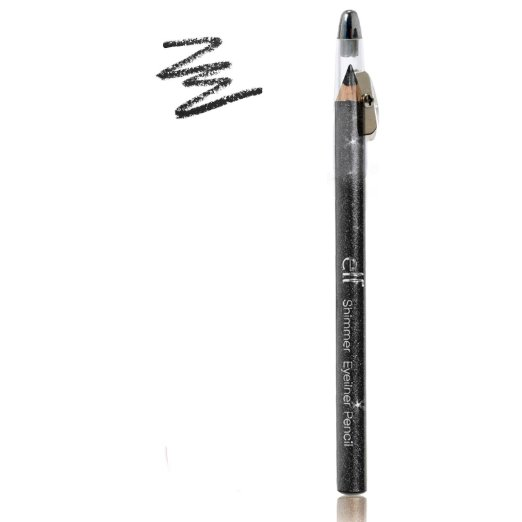 Eyeliner Black Sharpener Brightening e.l.f. 7609
