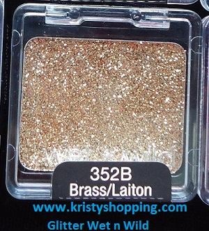 Wet n Wild Shadow Glitter 352B
