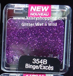 Wet n Wild Shadow Glitter 354B