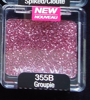 Wet n Wild Shadow Glitter 355B