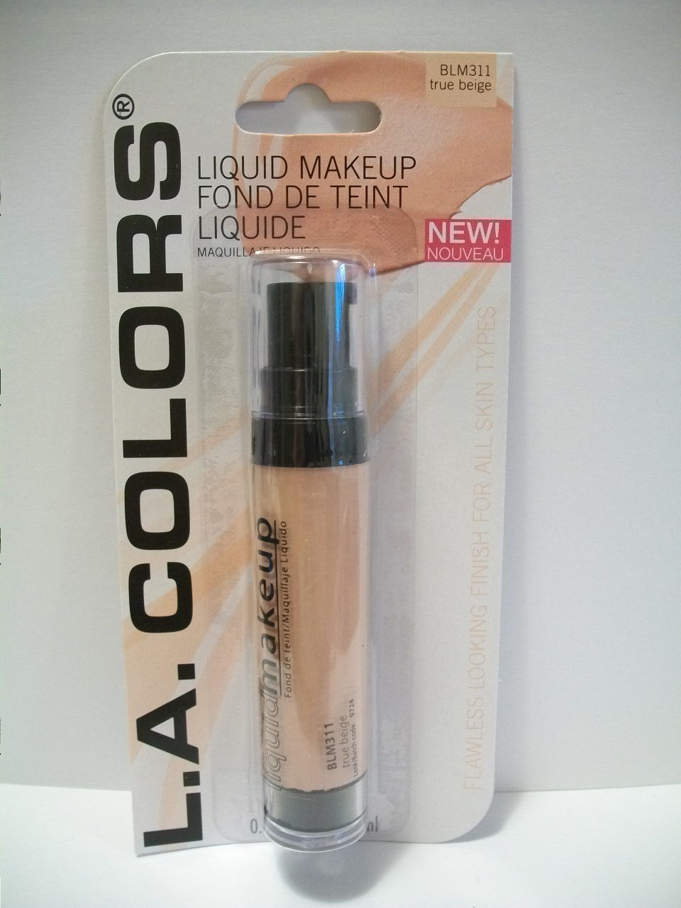 Base de Maquillaje L.A. Colors True Beige 311