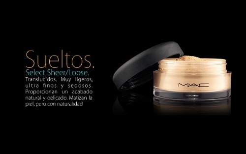 Polvo Translucido Select Sheer Loose MAC NC50