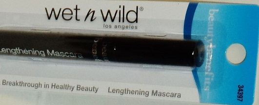 Mascara Mega Lash Lengthening Black, Wet N Wild 34397