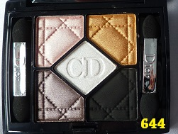 Eyeshadow Palette 5 Couleurs Dior 644