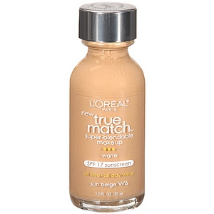Loreal Paris True Match Liquid Foundation Sun Beige W6